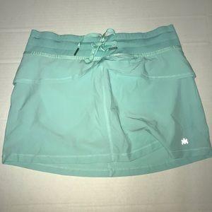 Kyodan Golf Skort Mint Green Size Medium